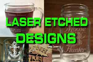 click to see all laser etched products beth blake design