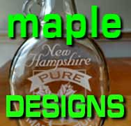 click to go to custom maple bottle designs